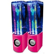 Iboutique la Original Rosa Dancing Water Speaker colourjets Usb Pc/mac/mp3 / Etc