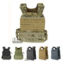 Tactical MOLLE CrossFit Run Adjustable Weighted Vest Plate Carrier Quick Release