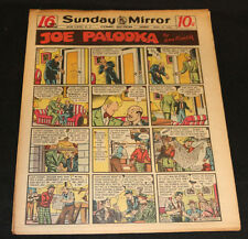 1950 Sunday Mirror Weekly Comic Section April 30th (Fine) Superman Action Abner