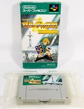 The LEGEND OF ZELDA TRIFORCE SFC Super Famicom SNES JAPAN w/Box VGC US Seller