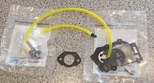 Poulan 3400 PP375 Walbro Carb Kit, 19099 Gasket, Fuel Line, Filter, Vent,Fitting