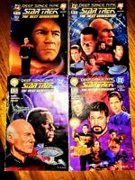 DC/Malibu Star Trek Crossover TNG/ Deep Space Nine 1994 RARE SET (4) Issues