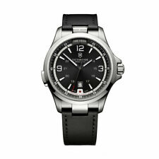 Victorinox Swiss Army Men's Watch Night Vision Black Dial Strap Quartz 241664