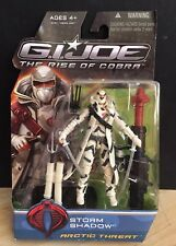 2009 GI Joe The Rise of Cobra STORM SHADOW Arctic Threat Action Figure Hasbro