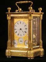 Pendulette voyage / officier, Carriage clock, Reiseuhr