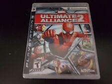 Marvel: Ultimate Alliance 2 [PS3] [PlayStation 3] [No Manual!]