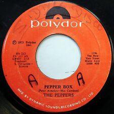 PEPPERS 45 Pepper Box / Pinch Of Salt NEAR MINT Disco JA PRESS Polydor c1389