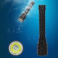 Waterproof  2000 Lumen CREE XM-L U2 LED Diving Scuba Flashlight Torch Light Lamp