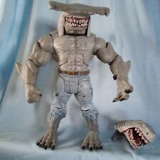 KING SHARK DC MULTIVERSE BAF COLLECT N CONNECT ACTION FIGURE BOTH HEADS COMPLETE