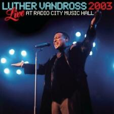 Live 2003 at Radio City Music Hall by Luther Vandross [CD]