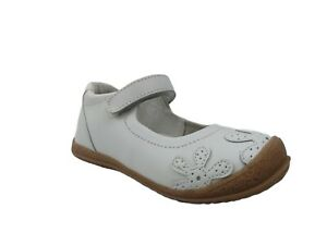 Angel Stitched Flower Mary Janes Toddler Shoes Size 10
