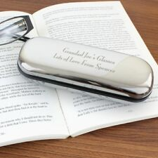 Personalised Chrome Glasses Case Christmas Gift Ideas for Her & Him P0103A81