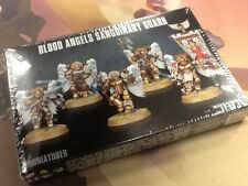 40K Warhammer Blood Angels Sanguinary Guard NIB Sealed