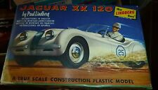 VINTAGE LINDBERG JAGUAR XK 120  MODEL CAR MOUNTAIN KIT FS 609-29 1/32