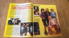 ABBA 'heels' 2 page ARTICLE / clipping from Joepie Belgian magazine