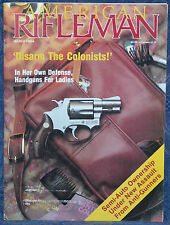 Vintage Magazine American Rifleman, MARCH 1989 !!!WINCHESTER Model 1886 RIFLE!!!