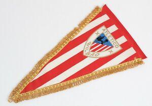 Vintage Football Pennant 1970's - F.C. ATLETICO BILBAO - Spain Flag