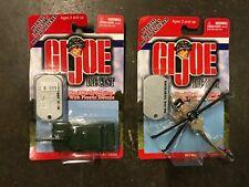 GI Joe Series 1 Metal Die Cast Lot of 2 M1 A1 Tank MH 60K Night Hawk Unopened