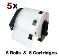 5 Pack DK 1209 Compatible Label with 5 Cartridges  Brother QL-570 700 720 650