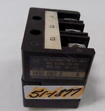 ALLEN BRADLEY TERMINAL BLOCK 1492-DB2-3 600VAC SERIES A
