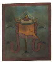 Tsakli -simbolo Vittoria-Pittura Starter Lama Tibetano Mongolia Tibet 7654
