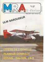 MRA N°568 FALCON ELECTRIQUE / OS 61 FS / ULM BAROUDEUR / KIWI / LS3 DE MULTIPLEX