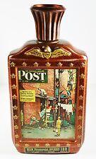 1976 Jim Beam Bicentennial Norman Rockwell Sat Evening Post Whiskey Bottle
