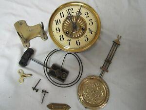 ANTIQUE GERMAN JUNGHANS VIENNA REGULATOR CHIMING WALL CLOCK MOVEMENT COMPLETE