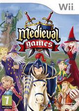 ELDORADODUJEU >>> MEDIEVAL GAMES Pour NINTENDO WII NEUF VF