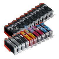 20*PK PGI-250 CLI-251 InkTank for Canon Printer Pixma MG6320 MG7120 iP8720 10PGI