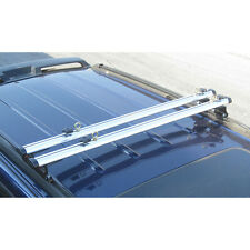 "White J1000 ladder roof van rack 60"" cross bar (Fits Factory 1"" tracks)"