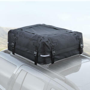 Large Rooftop Cargo Carrier for Luggage Travel Car Roof Storage - 16 CU FT