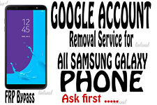 Google Account FRP Lock Removal bypass Service for All Samsung Phone[Ask first]