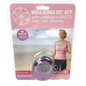 Walking Fit Kit With Walking Audio CD Intermediate Gaiam Debbie Rocker Nip