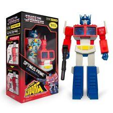 Transformers Super Cyborg Optimus Prime Autobot Robot 30 cm 11 inch Figur Super7