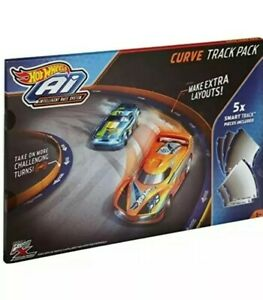 Hot Wheels - AI - Intelligent Race System - Curve Track Pack - Real FX Slotless