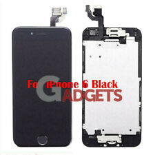 Black for iPhone 6 LCD Replacement Touch Screen Digitizer Assembly A1549 A1586