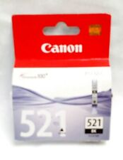 Genuine Canon CLI-521BK Black Ink Cartridge for Pixma X 2