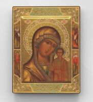 Russian Orthodox icon. Our Lady of Kazan. Home decor.