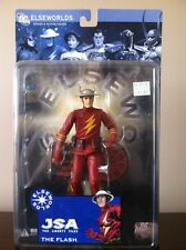 "THE FLASH 7"" DC DIRECT ELSEWORLDS SERIES 4 JSA The Liberty Files"