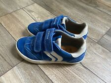 geox boys suede sneakers, size 10.5