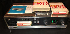 Panasonic Rs-806Us 8-Track Player Recorder Vintage tested