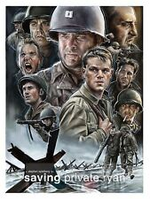 Poster A3 Salvar Al Soldado Ryan / Saving Private Ryan Pelicula Film Cartel 01