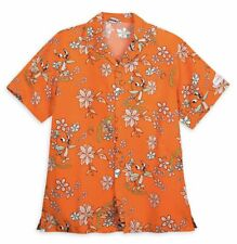 Disney Epcot 2020 Flower and Garden Festival Orange Bird Aloha Button Down Shirt