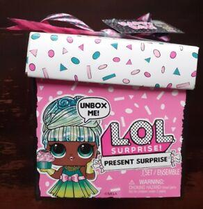 LOL Surprise Present Happy Day - Surprise Doll & 8 Surprises - New & Sealed