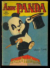 Four Color #25 (Andy Panda #1) Nice Golden Age Dell Comic 1943 GD-VG