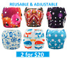 SWIM NAPPY Baby Reusable Nappies Cover BOYS GIRLS - Multifit Newborn to Toddler