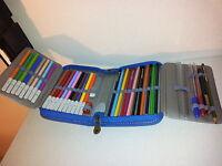 Astuccio portapenne scuola cerniera camomilla school case matite pennarelli pen