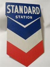 Standard Station Sign, Nostalgic Looking Gas Service Station Retro Metal Sign