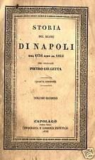 REGNO DI NAPOLI IMPONENTE STORIA 1836